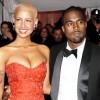 Famous Exes Amber Rose and Kanye West