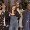 Dakota Johnson taking off her clothes for SNL