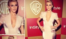 Julianne Hough Dress Rip